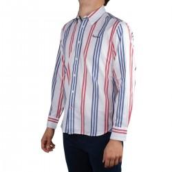 Pepe Jeans Blusa BRYCES Rayas Rojo Azul Hombre