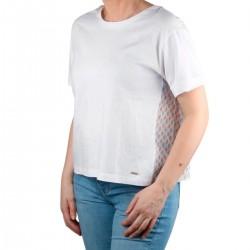 Pepe Jeans Camiseta BELINDA Multi Blanco Mujer