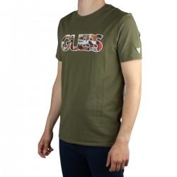 Guess Camiseta PHOTOSHOW Logotipo Verde Hombre