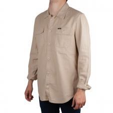Guess Camisa SHACKET Beige Hombre