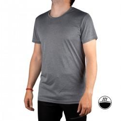 IcePeak Camiseta BOGEN Lead Grey Gris Jaspeado Hombre