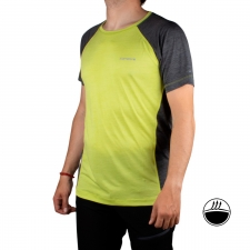 IcePeak Camiseta DESTIN Aloe Lima Gris Jaspeado Hombre