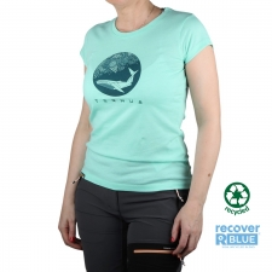 Ternua Camiseta ABLUN Aguamarina Mujer