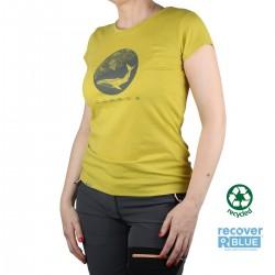 Ternua Camiseta ABLUN Verde Pistacho Mujer