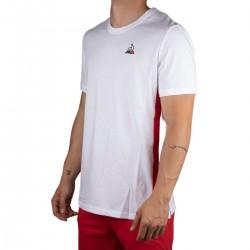 Le Coq Sportif Camiseta TRI Tee SS N°2 M new optical white Blanco Hombre