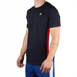 Le Coq Sportif Camiseta TRI Tee SS N°2 sky captain Marino Hombre