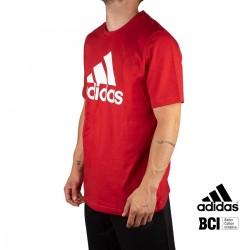 ADIDAS Camiseta Big Logo Essentials Rojo Escarlata Hombre