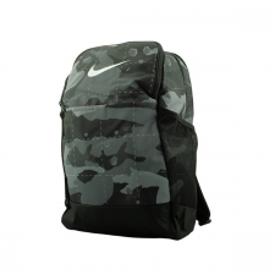 Nike Mochila Brasilia camuflaje gris verdoso