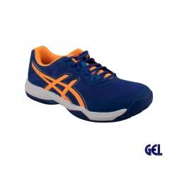 Asics Zapatilla GEL-PADEL PRO 4 monaco blue orange pop azul naranja Hombre