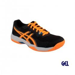 Asics Zapatilla GEL-PADEL PRO 4 black orange pop negro naranja Hombre