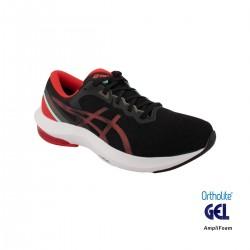 Asics Zapatilla GEL-PULSE 13 black electric red negro rojo Hombre