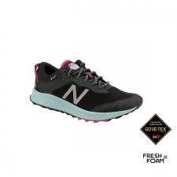 New Balance Zapatilla Fresh Foam Arishi Trail GTX Black poisonberry Negro morado Mujer