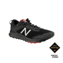 New Balance Zapatilla Foam Arishi Trail GTX Black lead Negro Rojo Hombre