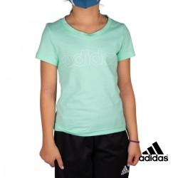 ADIDAS Camiseta Essentials Menta Claro Niño