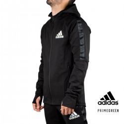 ADIDAS Chaqueta chándal Adidas Aeroready Sport Motion Black Negro Negro Hombre