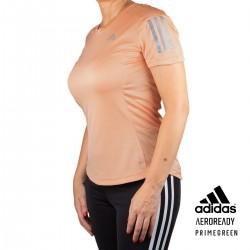 ADIDAS Camiseta Own The Run Ambient Blush Rosa Mujer