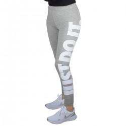 Nike Mallas Nike Sportswear Essential Just Do It Gris Mujer