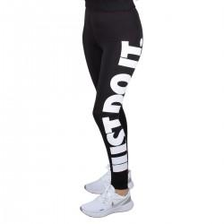 Nike Mallas Nike Sportswear Essential Just Do It Negro Mujer