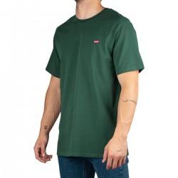 Levis Camiseta Original Housemark Tee Mini Logo Pineneedle Verde Hombre