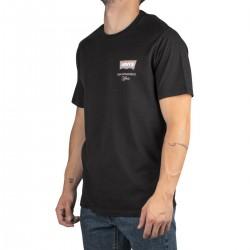 Levis Camiseta Housemark Graphic Caviar Negro Hombre
