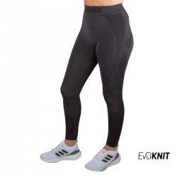 Puma Legging Largo Evostripe Evoknit 7/8 Tights Black Negro Gris Mujer