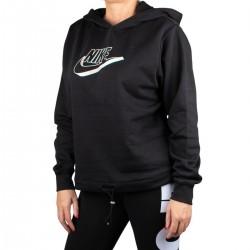 Nike Chaqueta Sportswear Black Negro Mujer