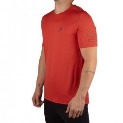Salomon camiseta XA TRAIL Goji Berry Rojo Hombre