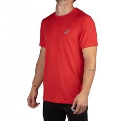 Asics Camiseta Core Ss Top Classic Red Roja Hombre