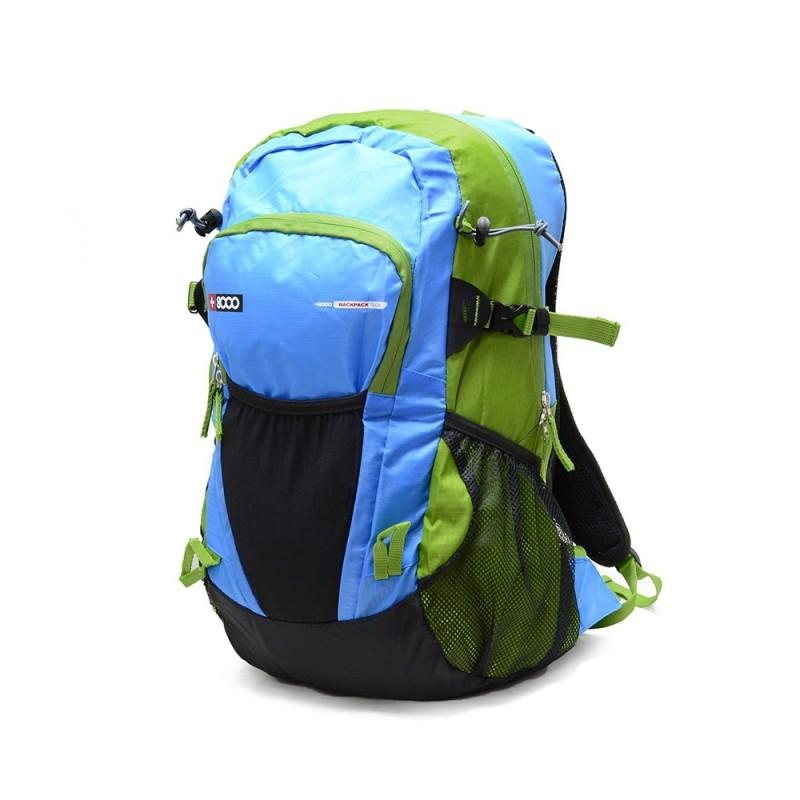 +8000 Mochila Unica 14 Verde Azulado