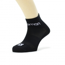 Salomon Calcetin Quarter Negro (pack 3 pares)