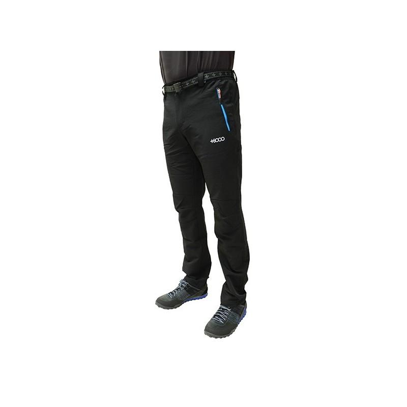 +8000 Pantalón Monegros Negro Hombre