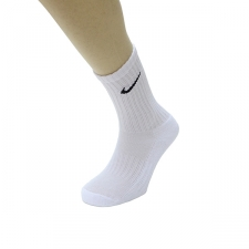 Nike Calcetines 4508 Blanco (Pack 3 pares)