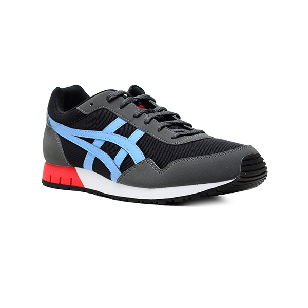 onitsuka tiger curreo - zapatillas - black / heritage blue