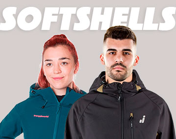 Chaquetas Softshells
