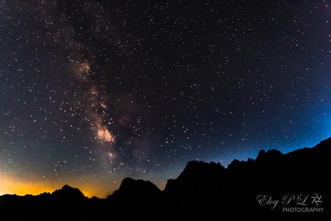 Noche estrellada Torre Blanca