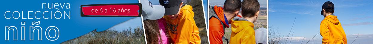 Tienda online ropa niño montaña barata