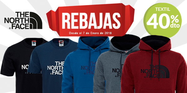 The North Face: sudaderas y camisetas en Rebajas. Últimas unidades